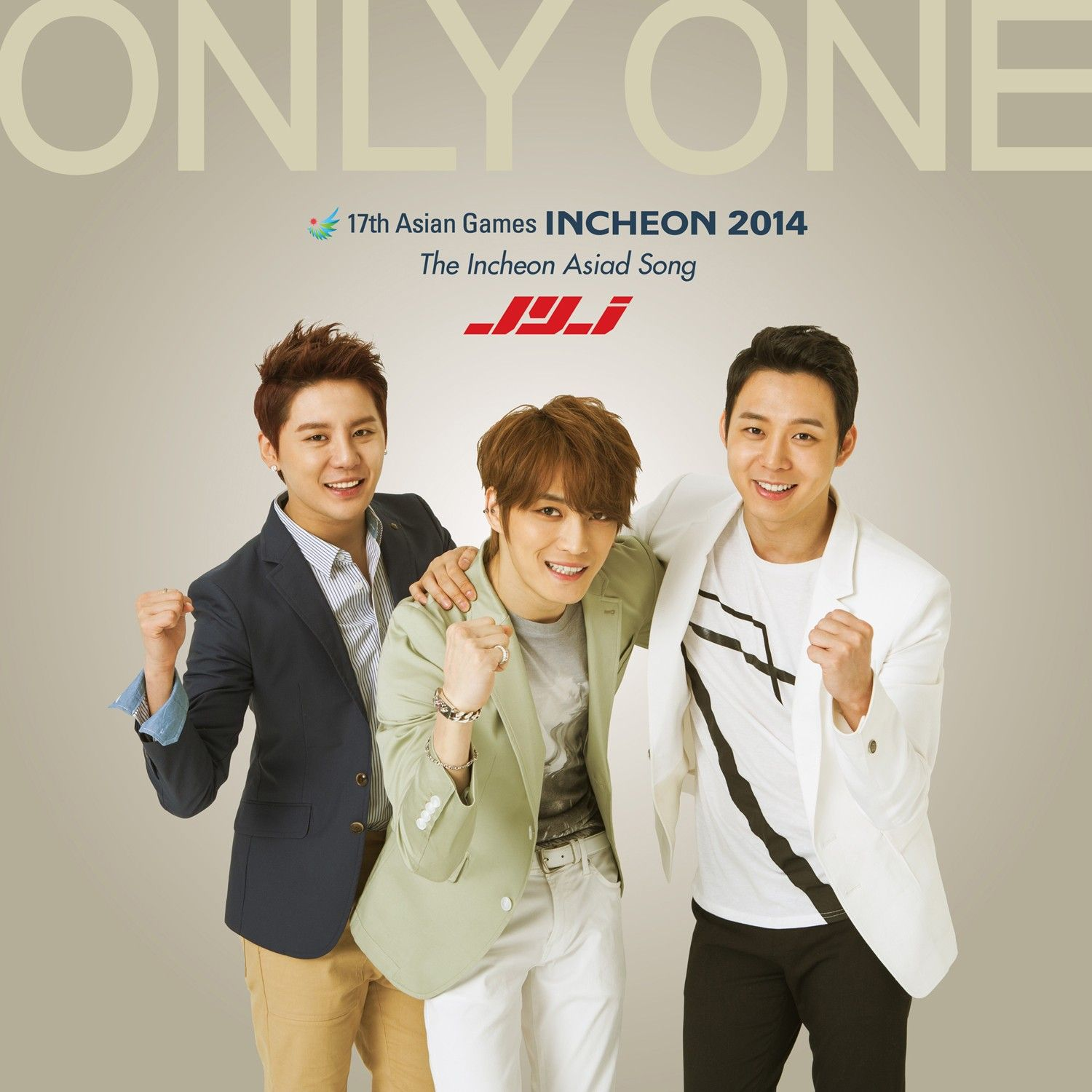 [Single] JYJ - Only One (The Incheon Asiad Song)