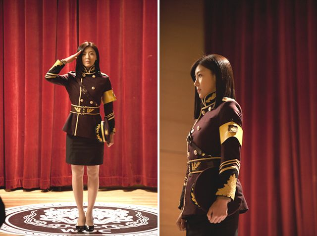King 2 Hearts Ha Ji Won Salutes While In Uniform Updated