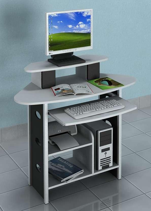 schreibtisch wei tisch computertisch pc tisch tastaturauszug ablage g nstig neu ebay. Black Bedroom Furniture Sets. Home Design Ideas