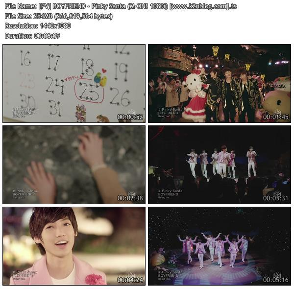 (PV) BOYFRIEND - Pinky Santa (M-ON! HD 1080i)
