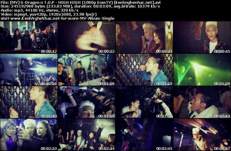 [MV] G Dragon & T.O.P (Big Bang)   HIGH HIGH (HD 1080p GomTV)