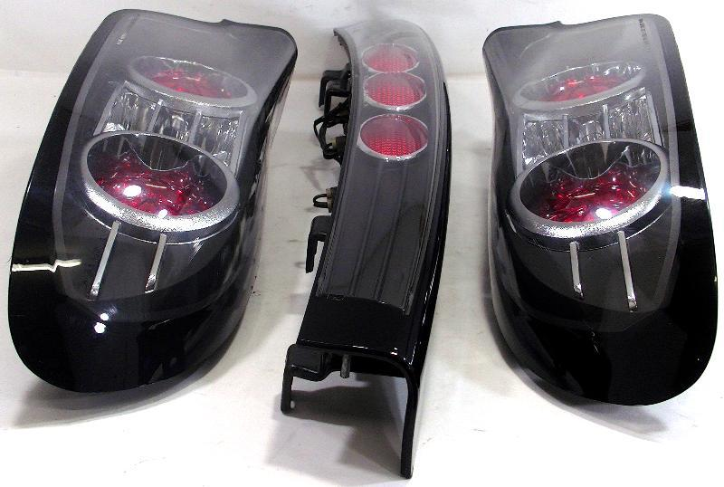 Aftermarket Tail lights+Garnish Mazda FD3S RX7 13b rew