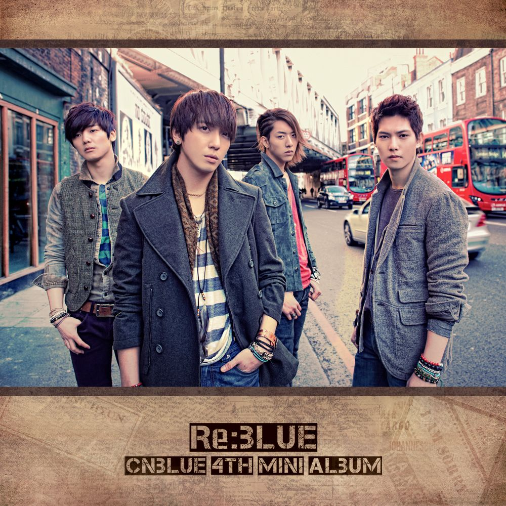 [Mini Album] CNBLUE - Re:BLUE [4th Mini Album]