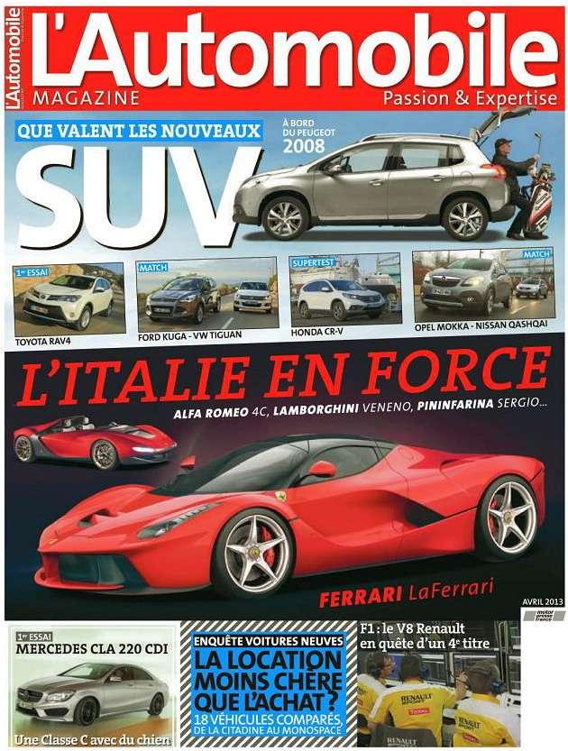 L'Automobile N°803 Avril 2013