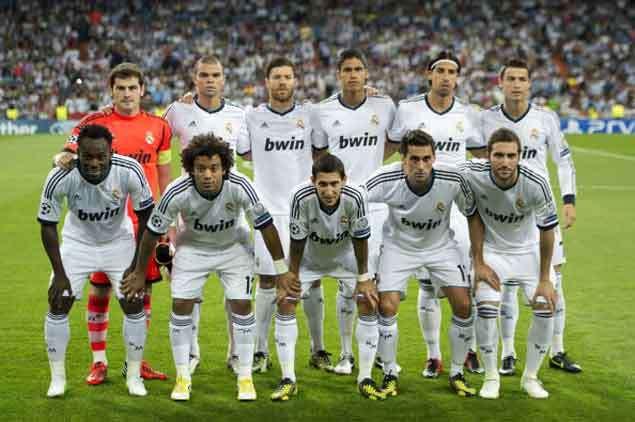 Alineaci U00f3n Del Real Madrid En Su Partido Contra Borussia