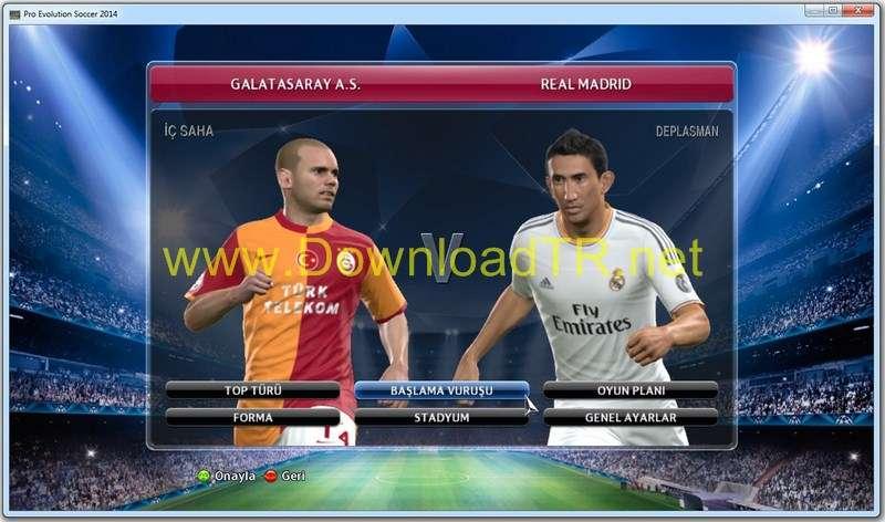 Download Crack Pro Evolution Soccer 2014 Reloaded